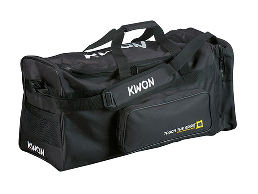KWON Training Bag, TTS Large, black, size: 65 x 32 x 32cm (Senior)