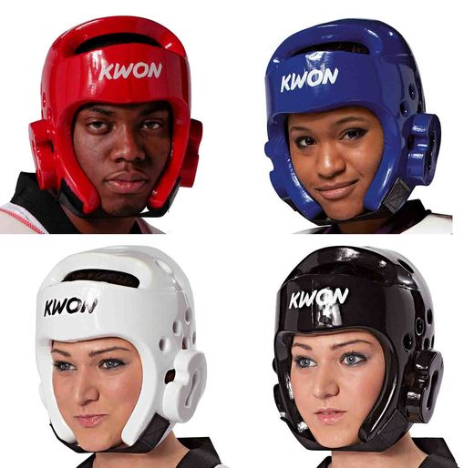 KWON Head Protection, World Taekwondo, PU, multiple colors