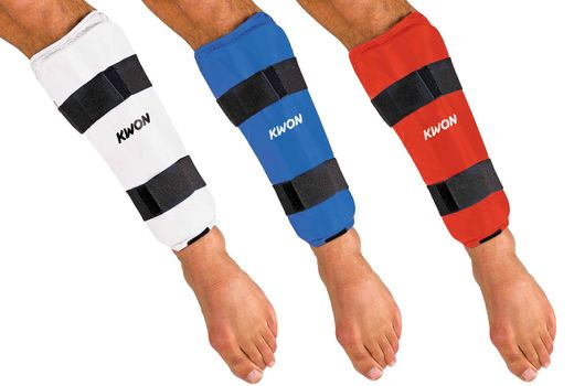 KWON KARATE SHIN PROTECTOR CE, WKF, Sizes XS-XL