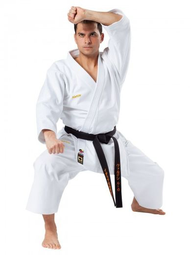 KWON Karate Kata-competition uniform, WKF-rec, white, 12 oz, sizes 150 cm - 190 cm