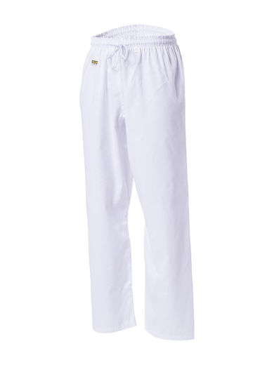 Club Line budopants, white, sizes: 100 cm - 200 cm