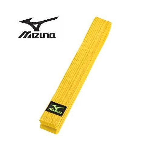Mizuno budobelt yellow sizes 195 cm - 315 cm