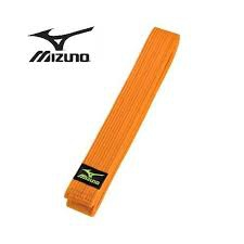 Mizuno budobelt orange sizes 195 cm - 315 cm