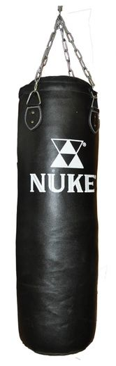 NUKE Punching Bag artificial leather sizes 100 cm or 120 cm