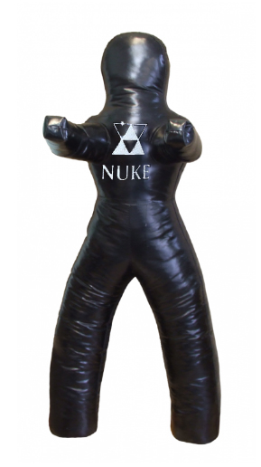 NUKE Bidepal Wrestling Dummy, black, sizes: 120 cm - 180 cm