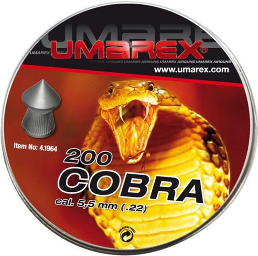 Pellets Umarex Cobra 5,5 mm/1,02g 200 pcs