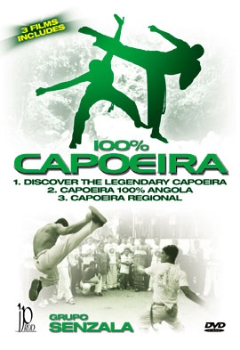 Discover The Legendary 100% Capoeira DVD