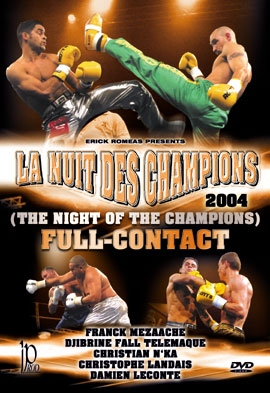 Full Contact: The 11th Night of The Champions 2004 DVD