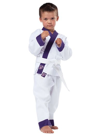 Dragon claw Uniform, white , sizes 80 - 140 cm