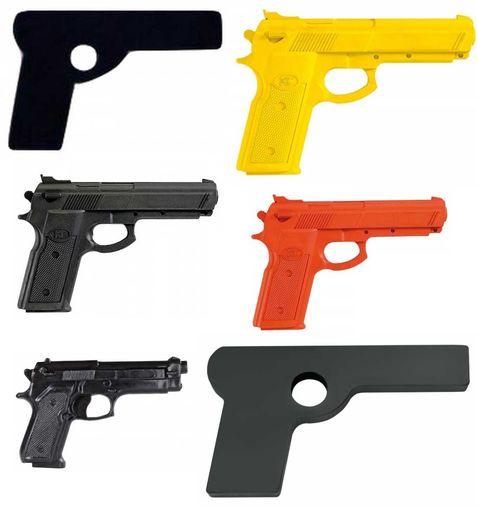 Plastic pistol,ColoursYellow, Black, Orange