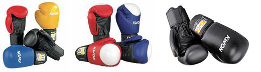 KWON Club Line Pointer Boxing gloves, artificial leather, 10 oz