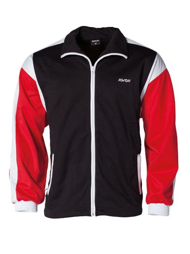 Copy of KWON Team jacket black/white/red sizes S - XL